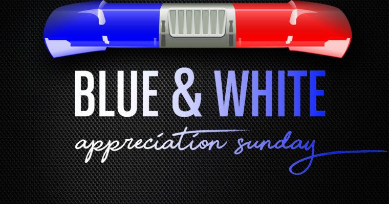Blue & White Sunday