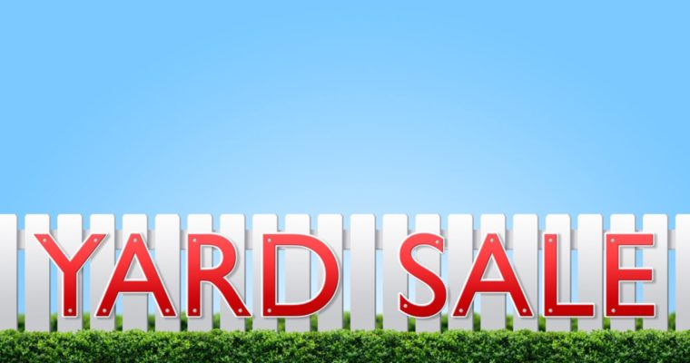 Summer Yard Sales!
