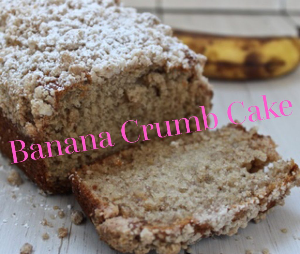 Banana Crumble Cake