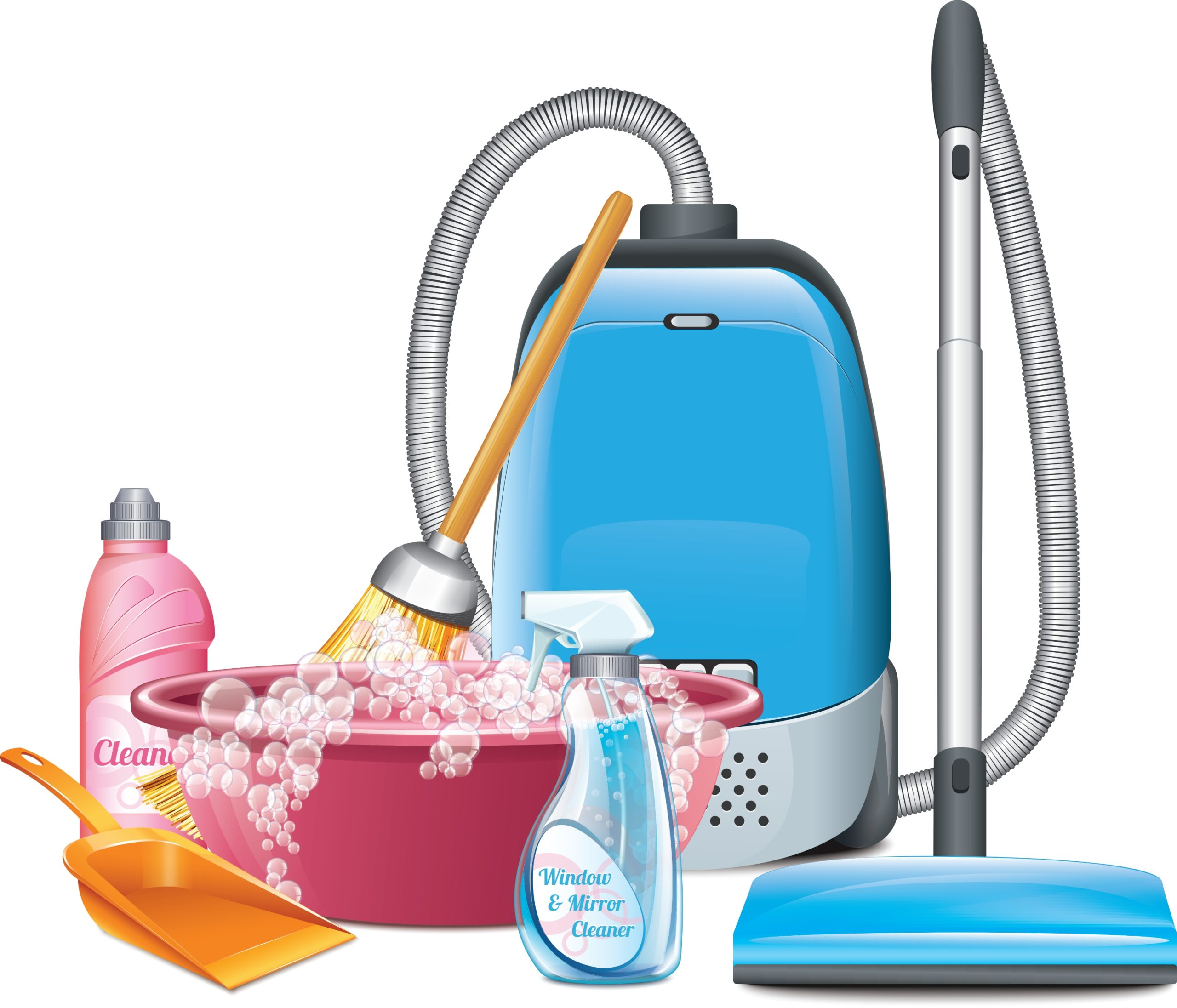 7 Things I Can't Clean Without
