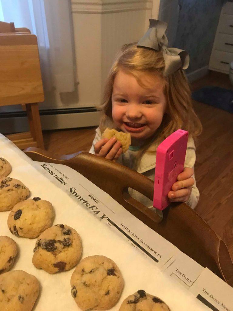 Raisin Puffs Cookies